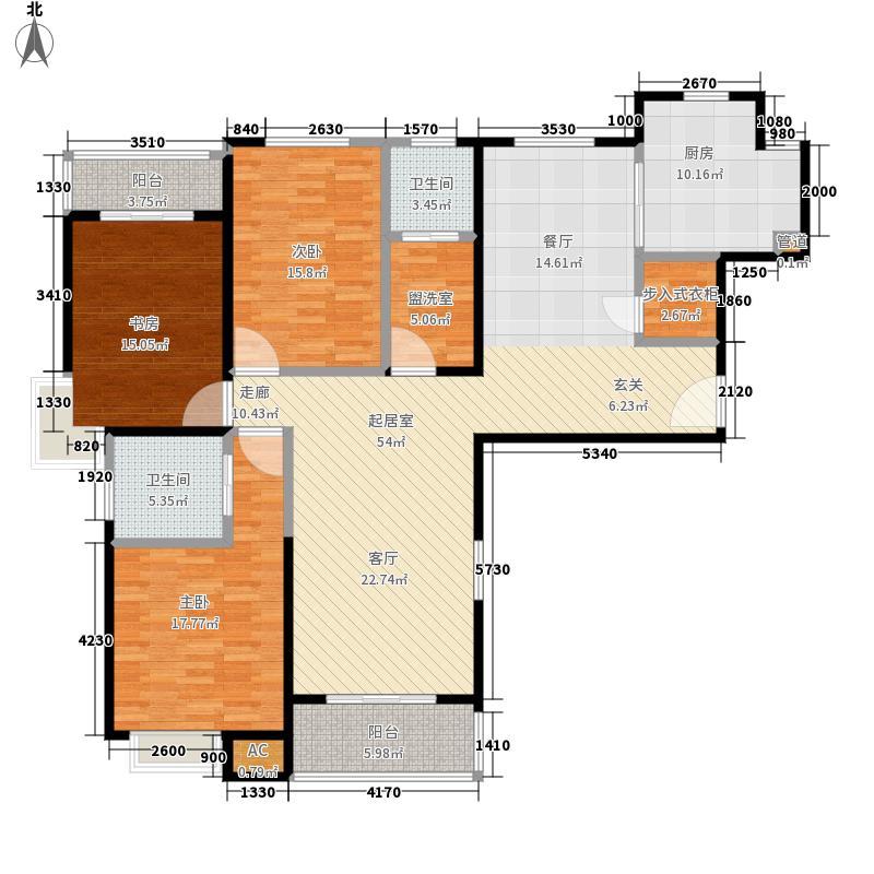 黄浦新苑157.81㎡二期2幢1号0面积15781m户型