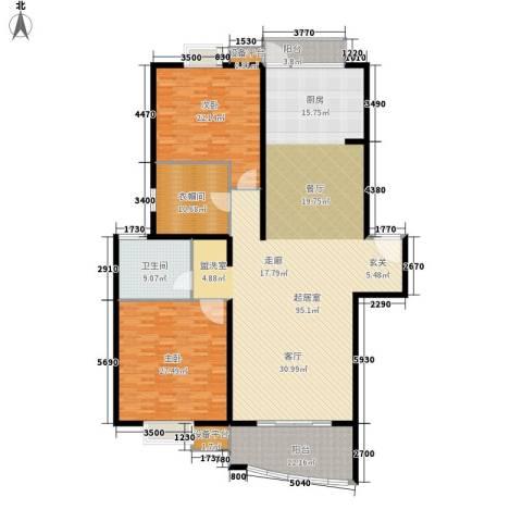 东方康德家园2室0厅1卫0厨200.00㎡户型图