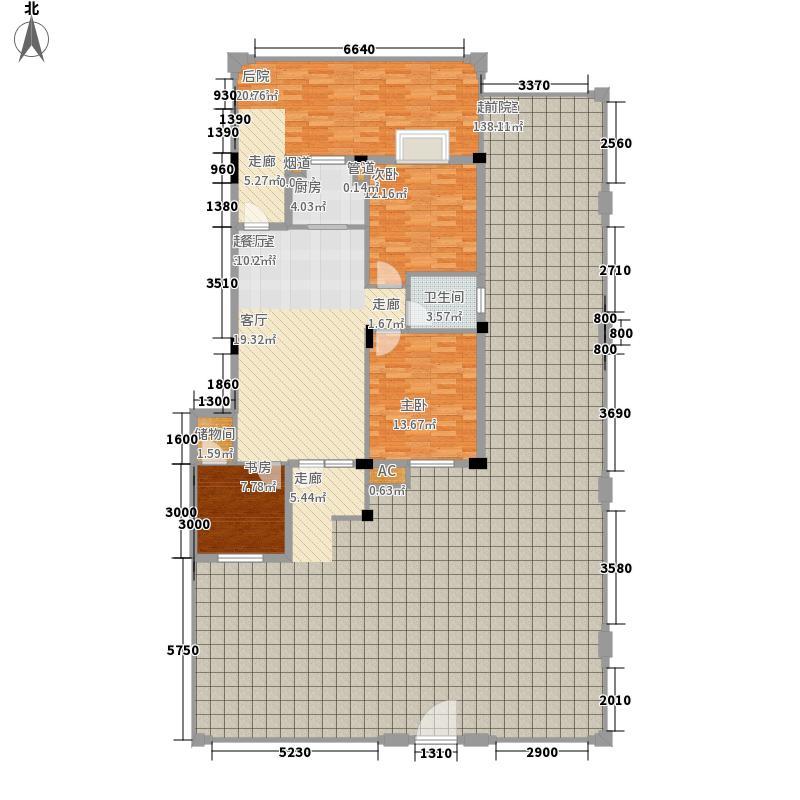 银湖水榭102.58㎡C2户型3室2厅