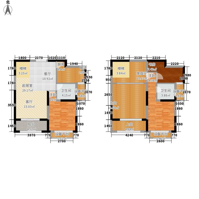 苏宁天润城139.00㎡C2-1户型3室2厅