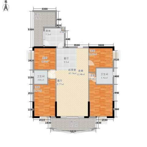 金泰瑞和园4室0厅2卫1厨169.00㎡户型图