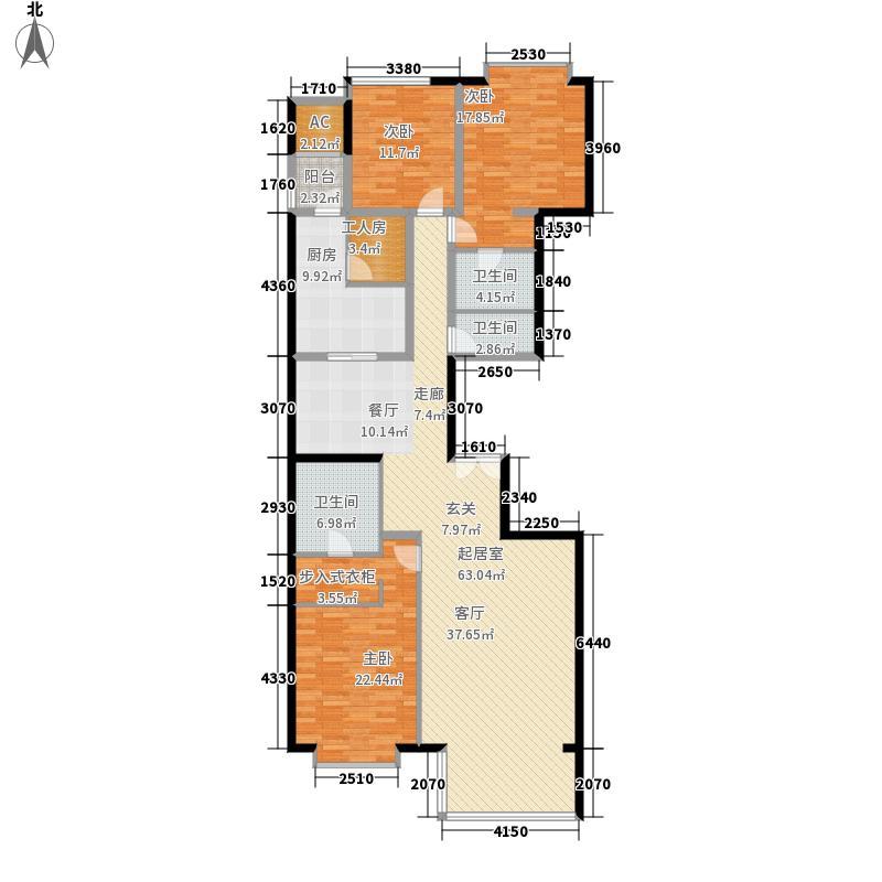 富力爱丁堡194.66㎡E-03面积19466m户型