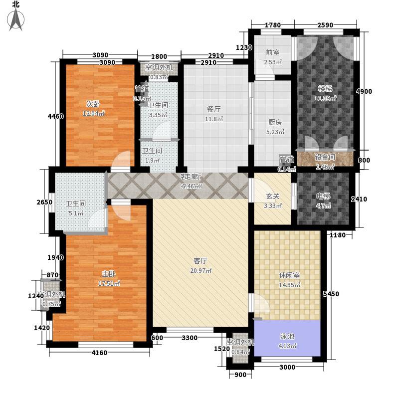 国信南山139.00㎡36#-A户型3室2厅