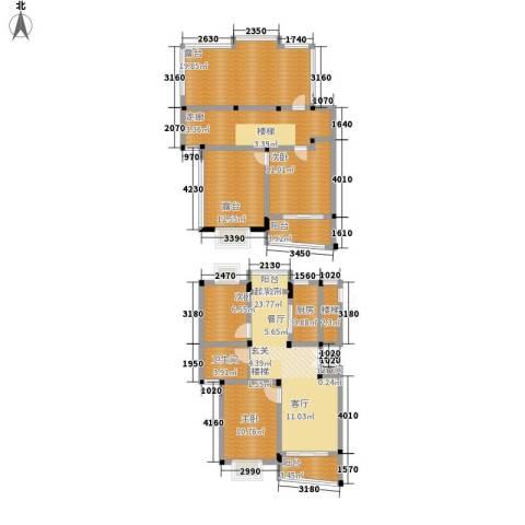 明丰世纪苑3室0厅1卫1厨135.00㎡户型图