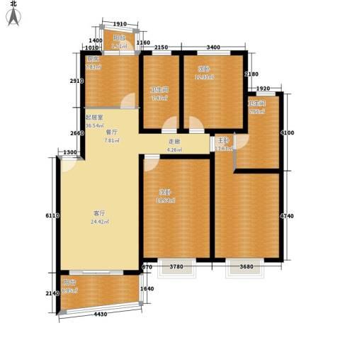 环龙新纪园3室0厅2卫1厨133.00㎡户型图