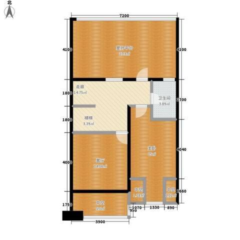 天鸿理想家园1室1厅1卫0厨92.00㎡户型图