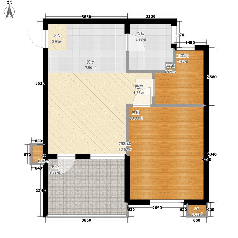 三亚·清平乐三亚清平乐二期B2户型1室2厅