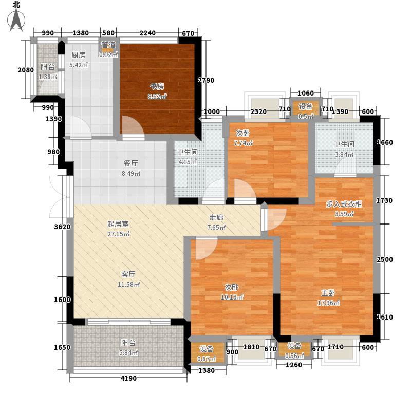 东邦城市广场95.31㎡三期12号楼标准层1/2号房户型