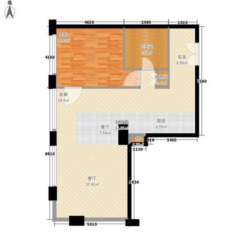 当代万国城1室0厅1卫0厨97.00㎡户型图