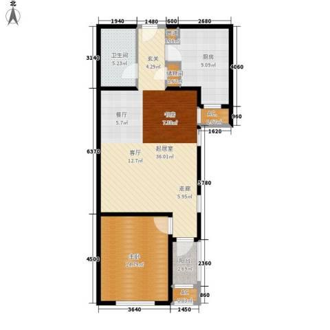 季景华庭1室0厅1卫1厨79.00㎡户型图