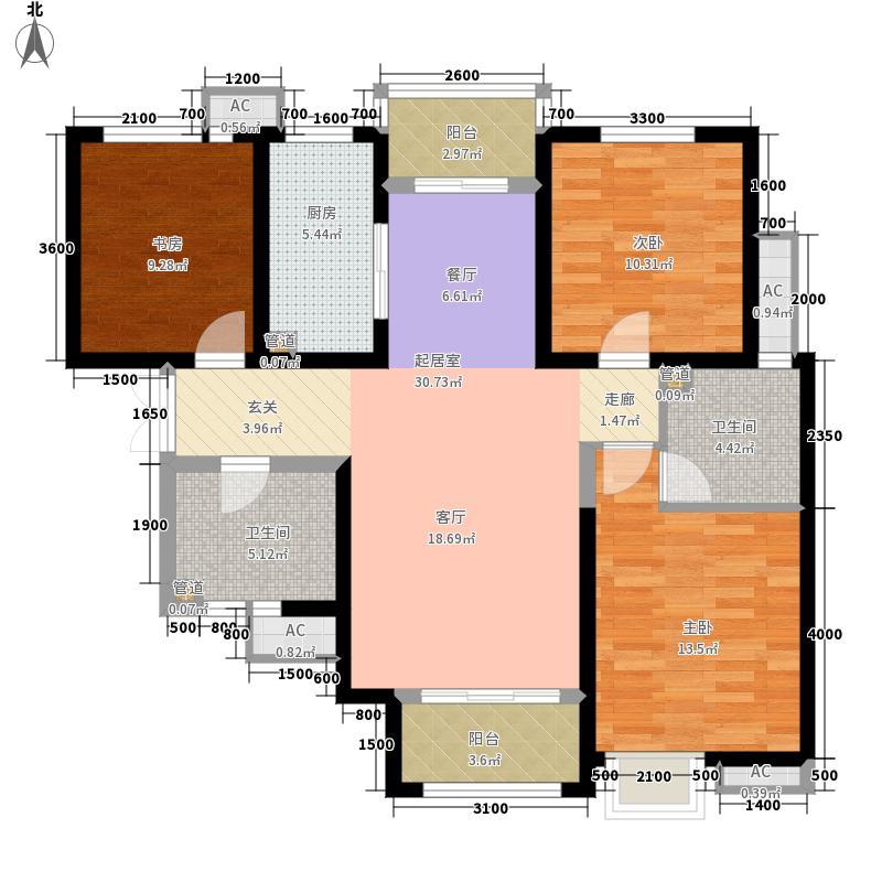 鑫苑大都汇108.00㎡A1户型2室2厅