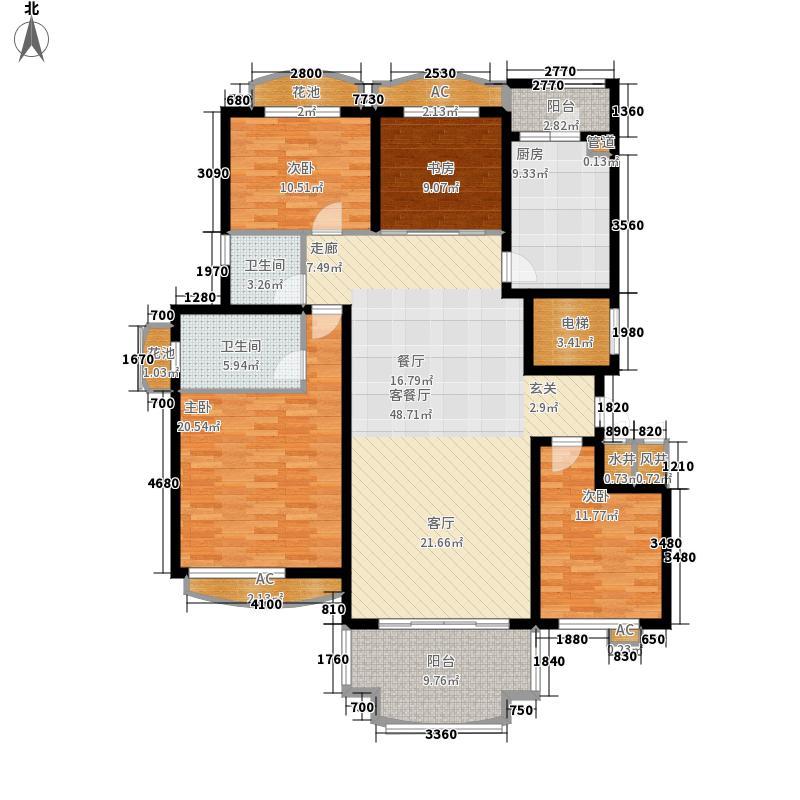 无锡碧桂园165.00㎡高层J230户型