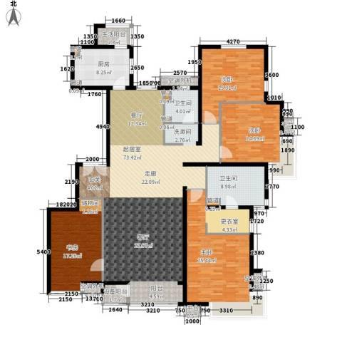 嘉铭桐城4室0厅2卫1厨191.00㎡户型图