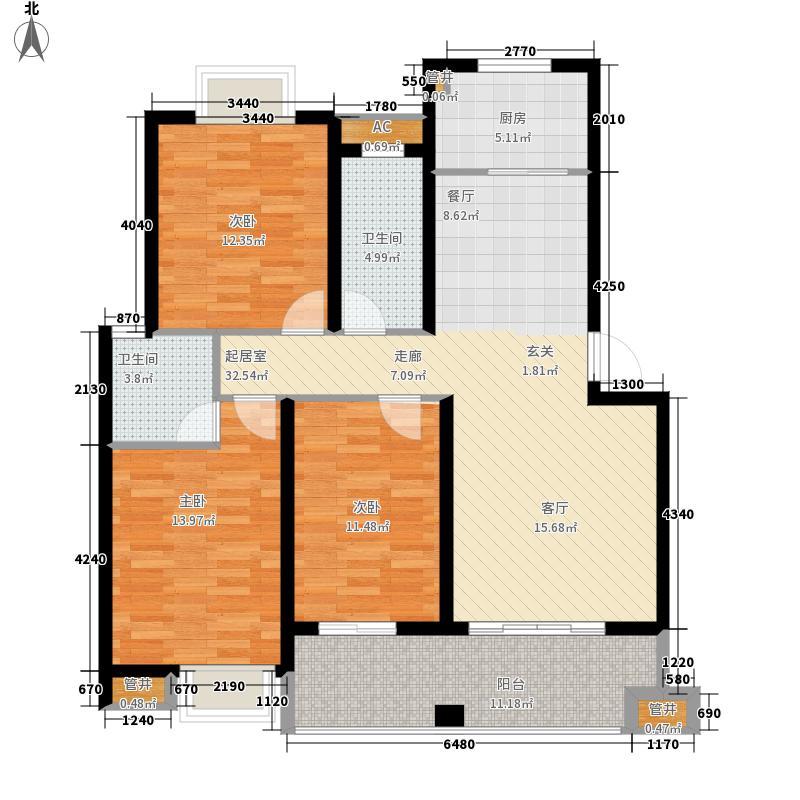 瑞景杭州花园瑞景・杭州花园正面3#楼1单元02户型