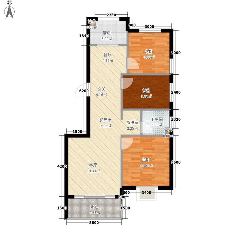 金海悦庭金海·悦庭户型3室2厅
