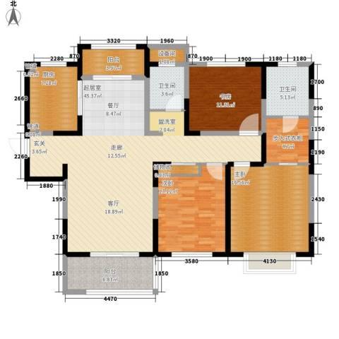 中星馨恒苑3室0厅2卫1厨139.00㎡户型图
