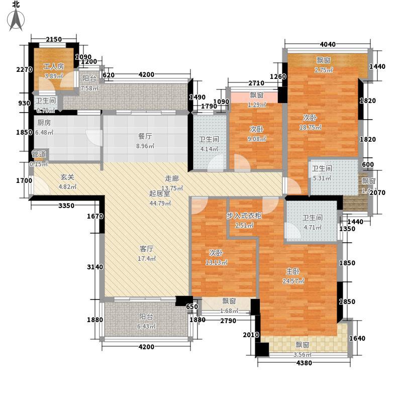 雅居乐英伦首府3座01、03单元单位户型