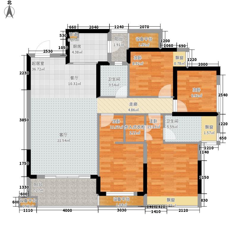 汉军五象一号户型4室2厅