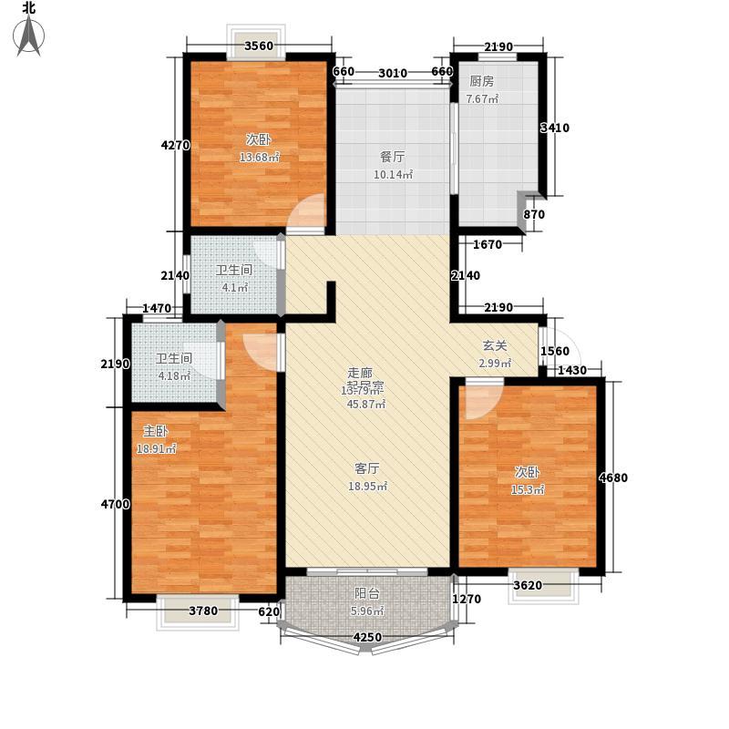 新南家园129.00㎡面积12900m户型