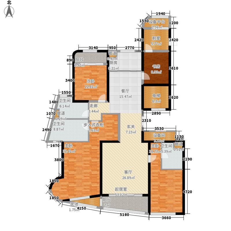 金都新蓝湾210.00㎡金都海尚国际4#楼B01、C01户型4室2厅