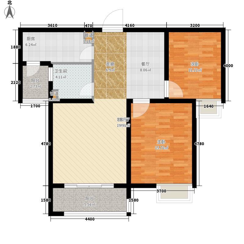 天朗美域91.41㎡A3-2户型2室2厅