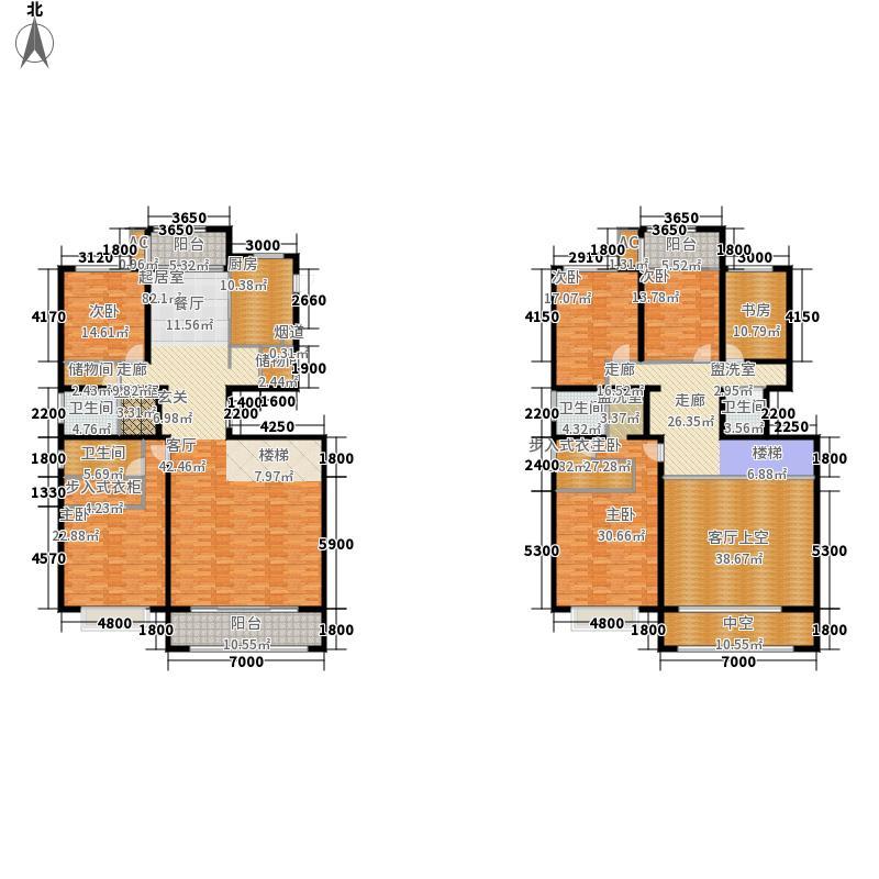 北城半岛名邸345.80㎡一期10号楼D2户型