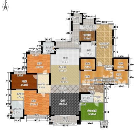 雅居乐・御龙山3室0厅3卫0厨267.00㎡户型图