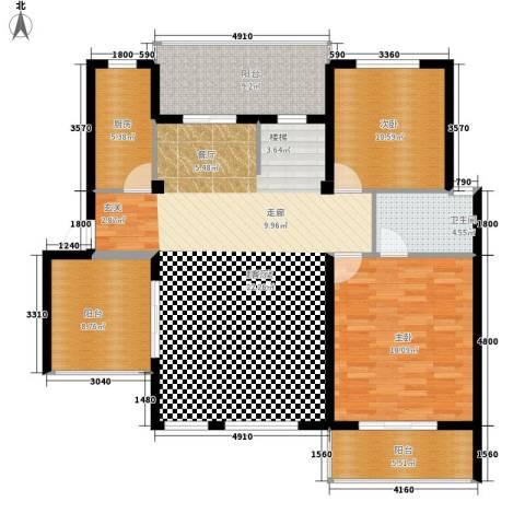比华利豪园2室0厅1卫1厨148.00㎡户型图