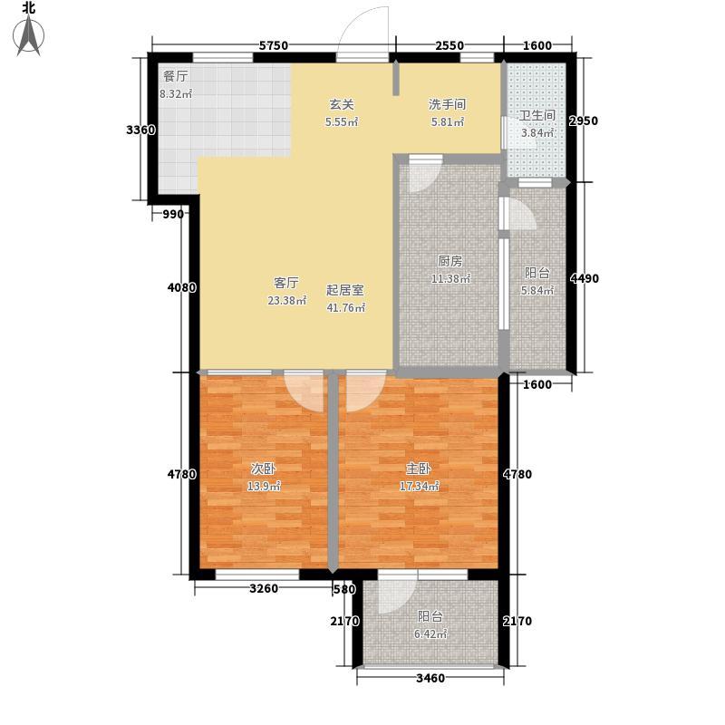 舒馨家苑112.00㎡B户型3室2厅