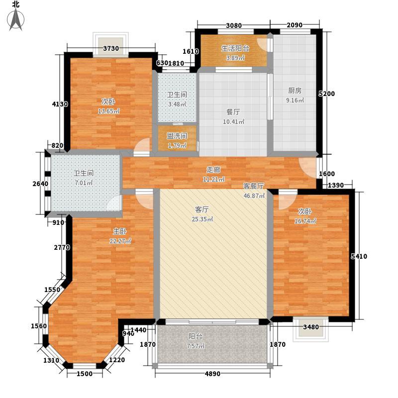 东湖星城150.00㎡荣耀大家3室2厅2卫1厨 150.00㎡户型3室2厅2卫
