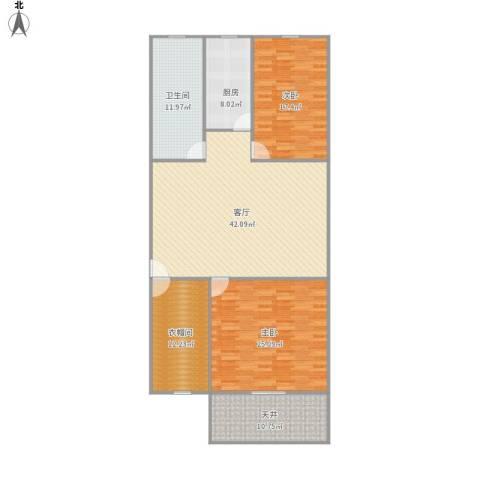 梅陇五村2室1厅1卫1厨169.00㎡户型图