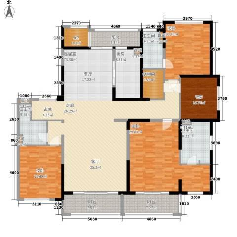保利星海屿4室0厅3卫1厨227.00㎡户型图
