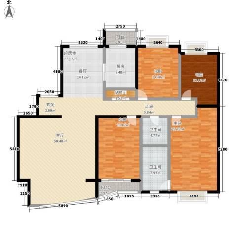 格调春天4室0厅2卫1厨199.00㎡户型图