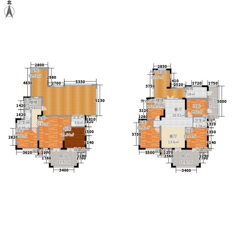中国诺贝尔城北入户顶层复式A户型