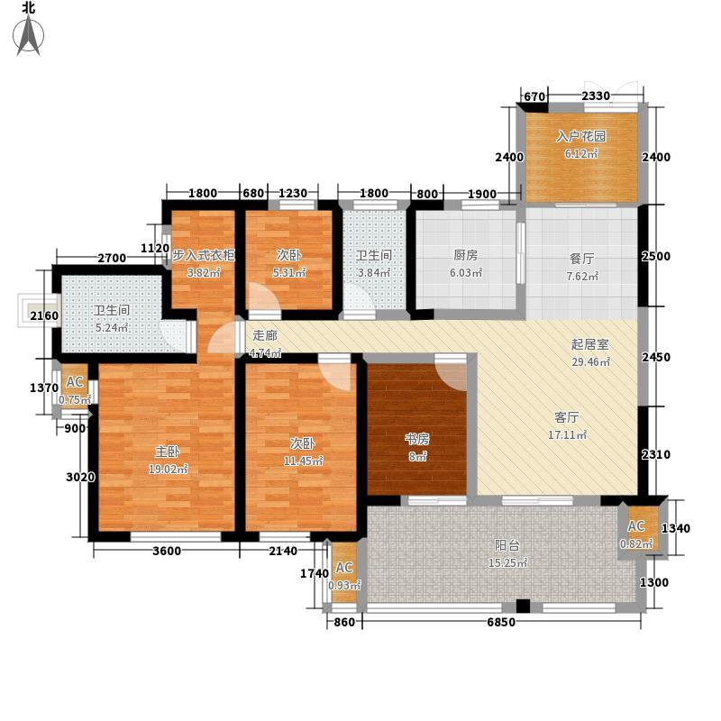 龙城国际109.46㎡1期5、11号楼标准层C2户型