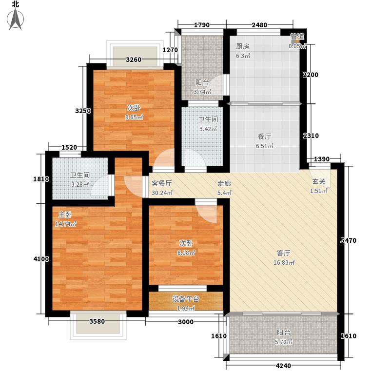 城市山水公园城市山水公园户型图公园街F6F7(9/10张)户型10室