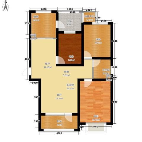 东方太阳城3室0厅1卫1厨92.74㎡户型图