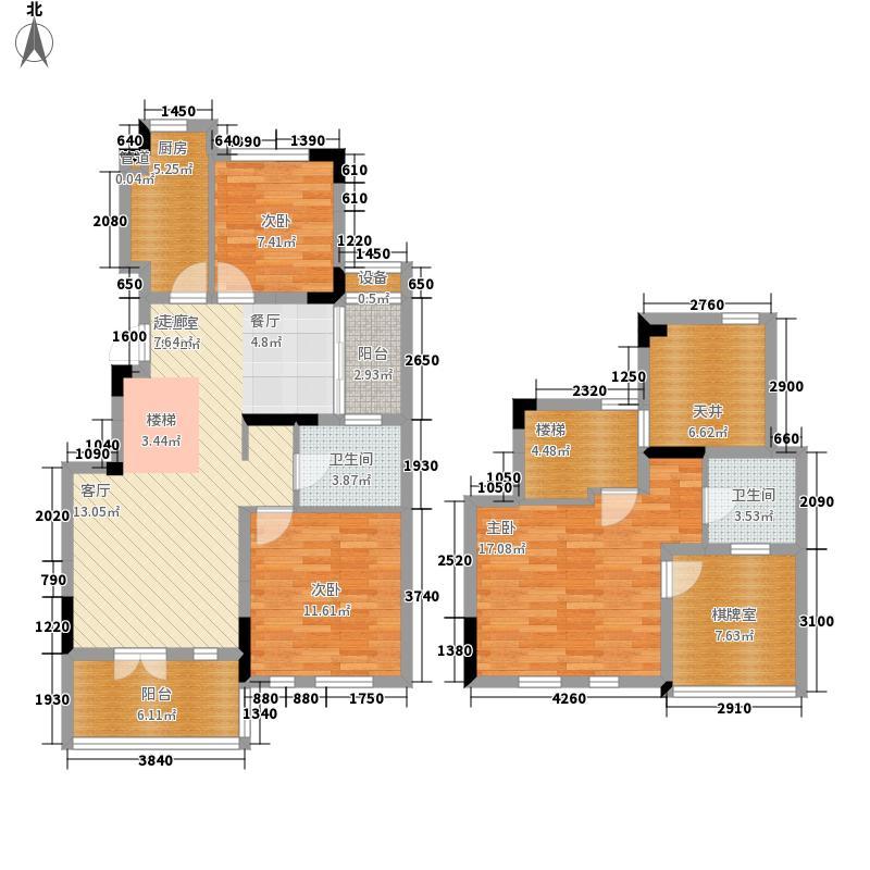 绿地世纪城123.26㎡11#丙单元11013室户型
