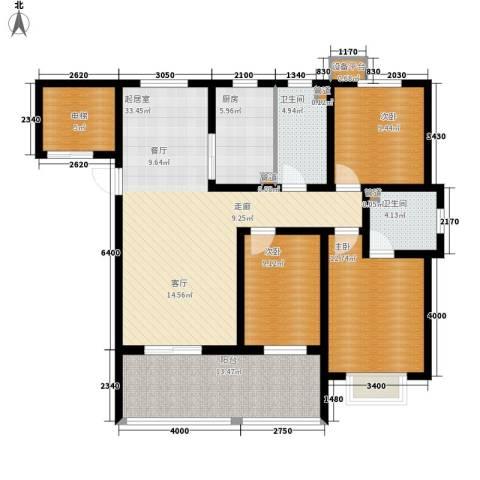 东方太阳城3室0厅2卫1厨115.47㎡户型图