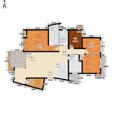 中天阳光美地4室0厅2卫1厨146.78㎡户型图