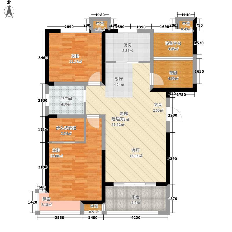 高速中央广场103.84㎡一期高层住宅A1户型