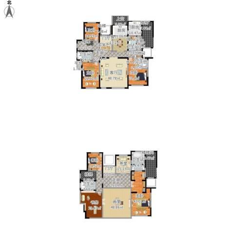 东方纽蓝地6室1厅5卫1厨599.00㎡户型图