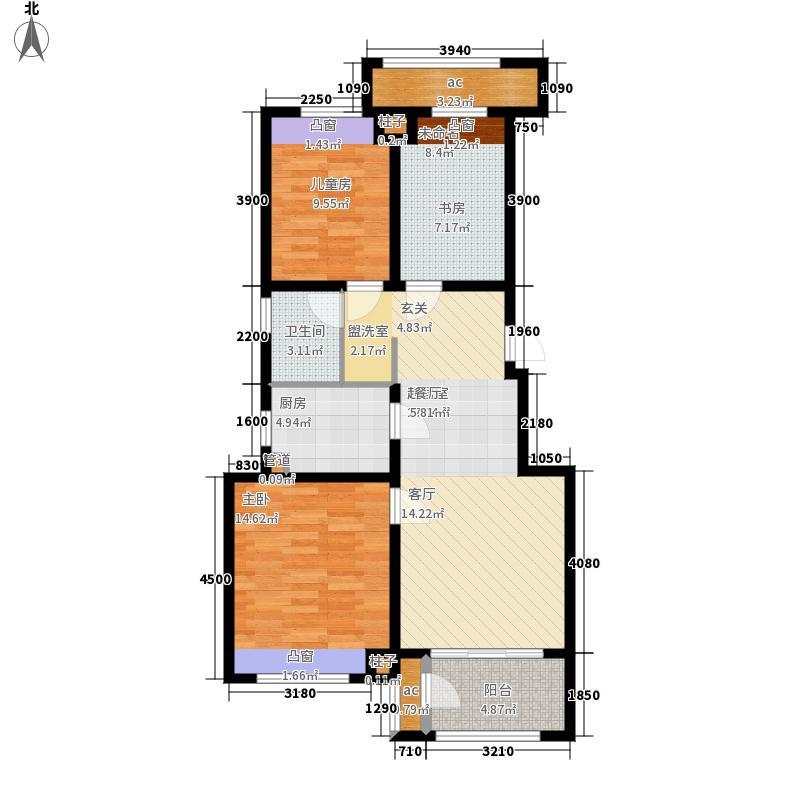万科·新酩悦90.00㎡户型3室2厅
