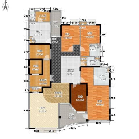 流花君庭4室0厅4卫1厨253.00㎡户型图
