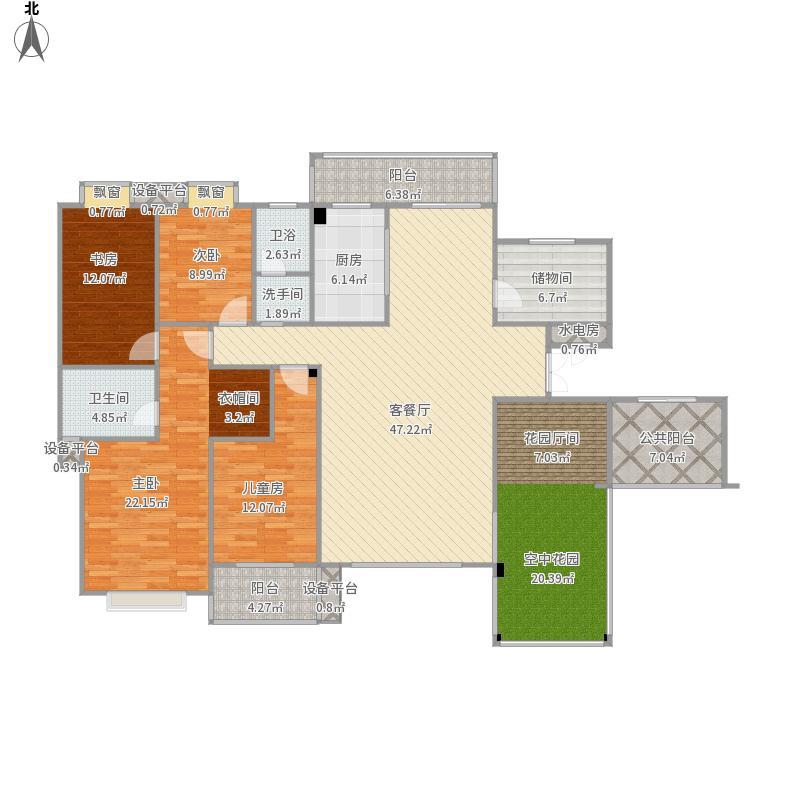 紫霞园房型图