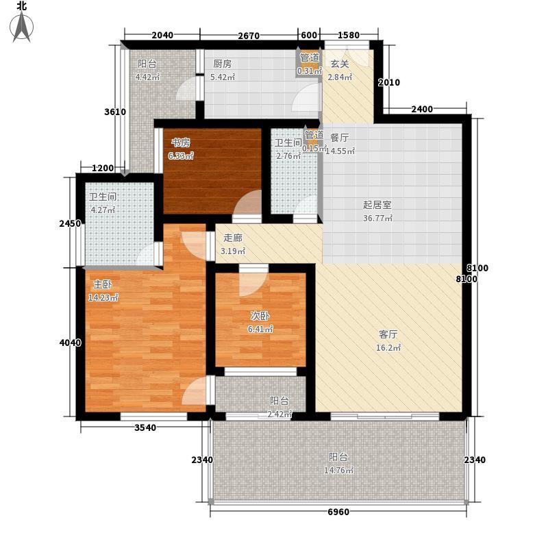 金宇紫林广场金宇紫林广场户型图(3/70张)户型10室