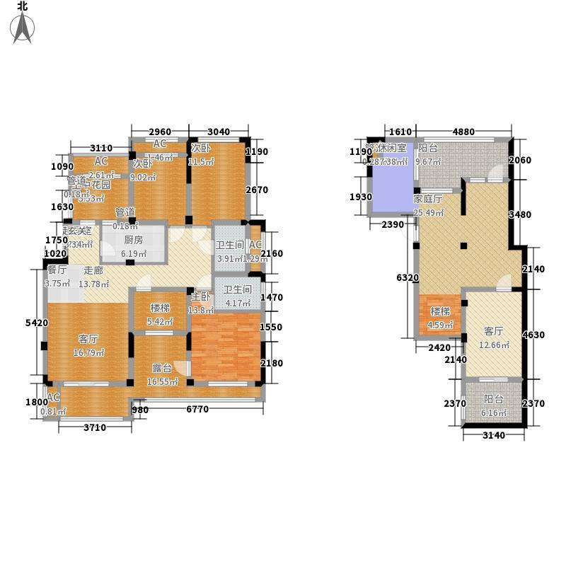 郑州正商红河谷139.00㎡正商红河谷电梯洋房B'户型3室2厅