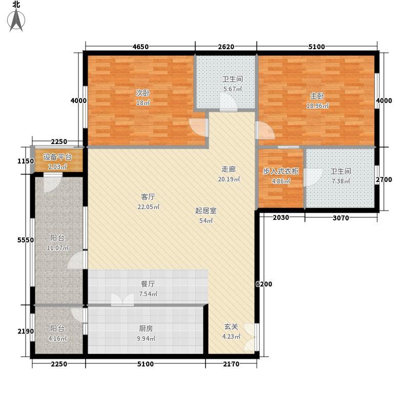 上东8号179.99㎡南楼A1户型