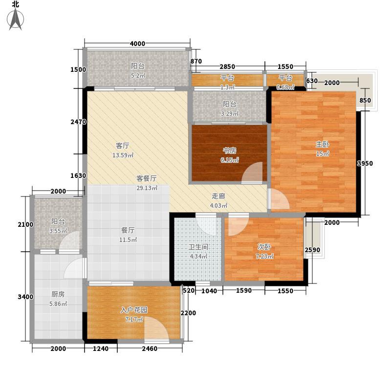 盛天龙湾102.00㎡3室2厅1卫