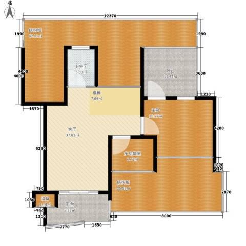德润园1室1厅1卫0厨157.52㎡户型图